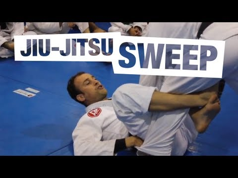 JiuJitsu Sweep with Marcio Feitosa