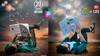 PicsArt Viral Instagram Photo Editing Tutorial Step By Step In Hindi In Picsart 2019