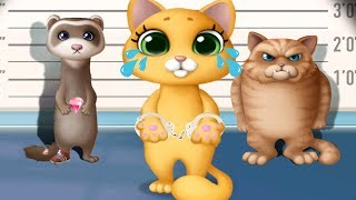 Fun Kitten Pet Care - Kitty Meow Meow City Heroes - Play Cute Animals Rescue Fun Games For Kids