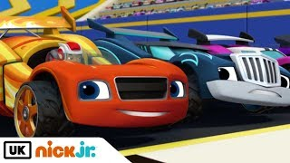 Blaze and the Monster Machines   The Hundred Mile Race   Nick Jr. UK