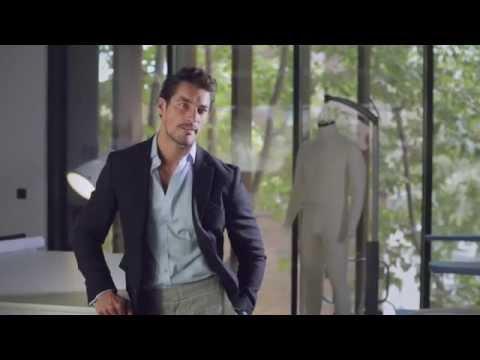David Gandy Underwear For Marks & Spencer (Behind The Scenes)