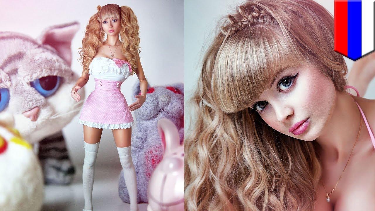 Как себе сделать стиль куклы 182