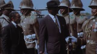 ETHIOPIA AFRICAN LEADERS ARRIVE FOR SIXTH ANNUAL SUMMIT CONFERENCE  6th September 1969