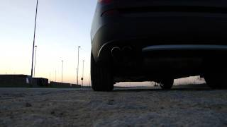 New BMW X3 xDrive 35i F25 (2011) - Exhaust sound - Start up, reving and take-off :)