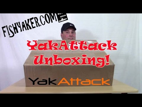 YakAttack Kayak Fishing Accessory Unboxing  Episode 320
