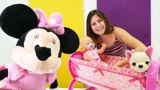 Minnie Mouse bebek Gu?l'e yeni be?ik getiriyor!