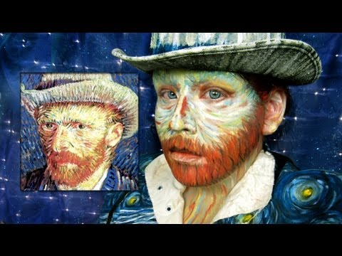Make Yourself Into Vincent Van Gogh: A Makeup Tutorial