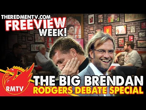 The Big Brendan Rodgers Debate Special | Reds News Roundup | RMTV Freeview Week