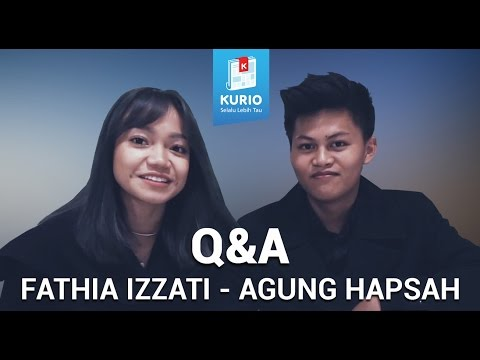 #SahabatKurio - Fathia Izzati & Agung Hapsah