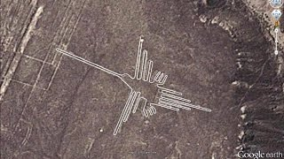 NAZCA LINES IN GOOGLE EARTH