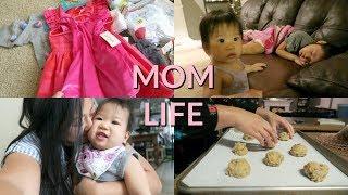 WE ARE ALL SICK + MINI TARGET KIDS CLOTHING HAUL | MOM LIFE