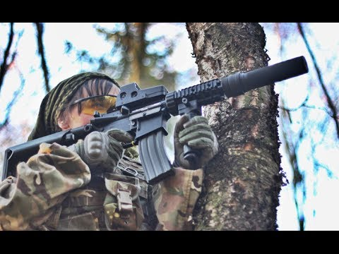 Airsoft War, The Fort, Scotland M249 G&G SPR, G&P Sentry, P90 HD