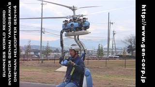 Guinness Record Smallest Helicopter GEN-H4 (Pt.2)