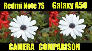 Redmi Note 7S vs Samsung Galaxy A50 - Camera Comparsion