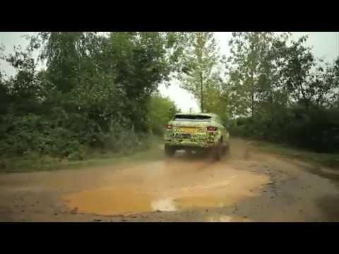 Range Rover Evoque — Внедорожные возможности