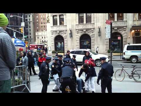 Drunk and Disorderly man gets carried away by EMS AND NYPD