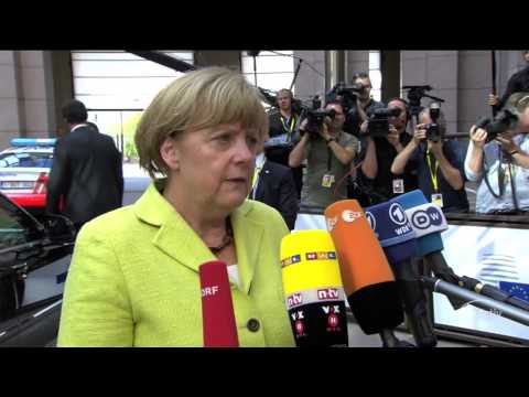 Merkel on the Ukrainian crisis: We will consider new sanctions against Russia