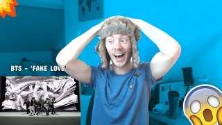 BTS (방탄소년단) 'FAKE LOVE' Official MV REACTION (FIRST TIME LISTENING TO BTS)