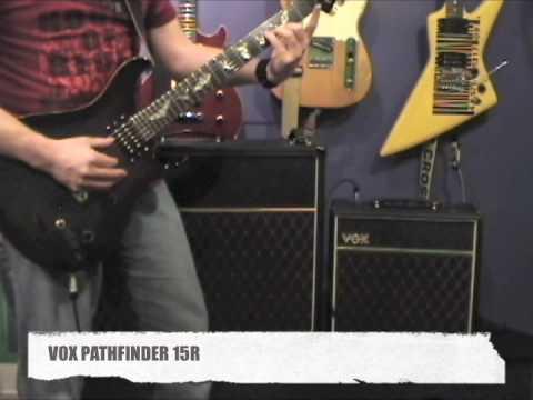 GUITAR TONE - VOX Pathfinder 15R vs VOX AC30C2