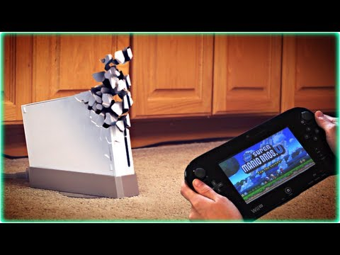 I Wish my Wii U could do that!