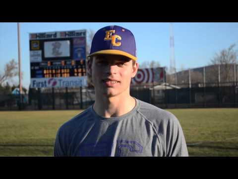Elmira College Baseball Post-Game Interview with Dennis Rudolph '18