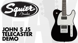 Squier - J5 John 5 Signature Telecaster Demo at GAK