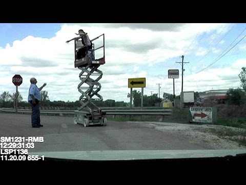 Steve's Drunk and High DUI at Work (Arrested on Scissor Lift)