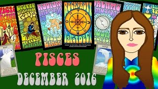PISCES  DECEMBER 2016 Tarot psychic reading forecast predictions free