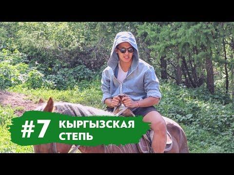 Кыргызская Степь. Таинственная Незнакомка. Доим Корову | Влог #7
