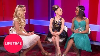 Dance Moms: Maddie, Chloe and Nia on Abby