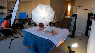 Baby PhotoShoot at Home