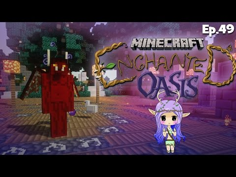 demon Hunter Minecraft Enchanted Oasis Ep 49 video
