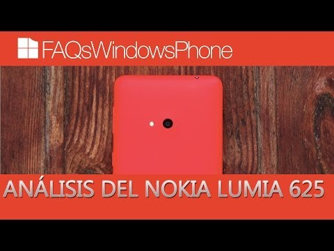 Análisis del Nokia Lumia 625 en español   FAQsWindowsPhone.com