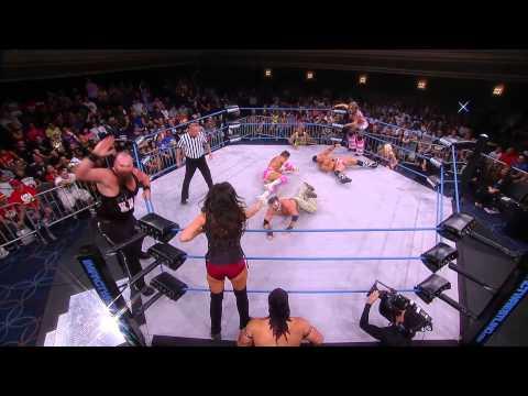 Knux, Crazzy Steve and Rebel vs Robbie E, Jessie Godderz and Velvet Sky (Sept 10, 2014)