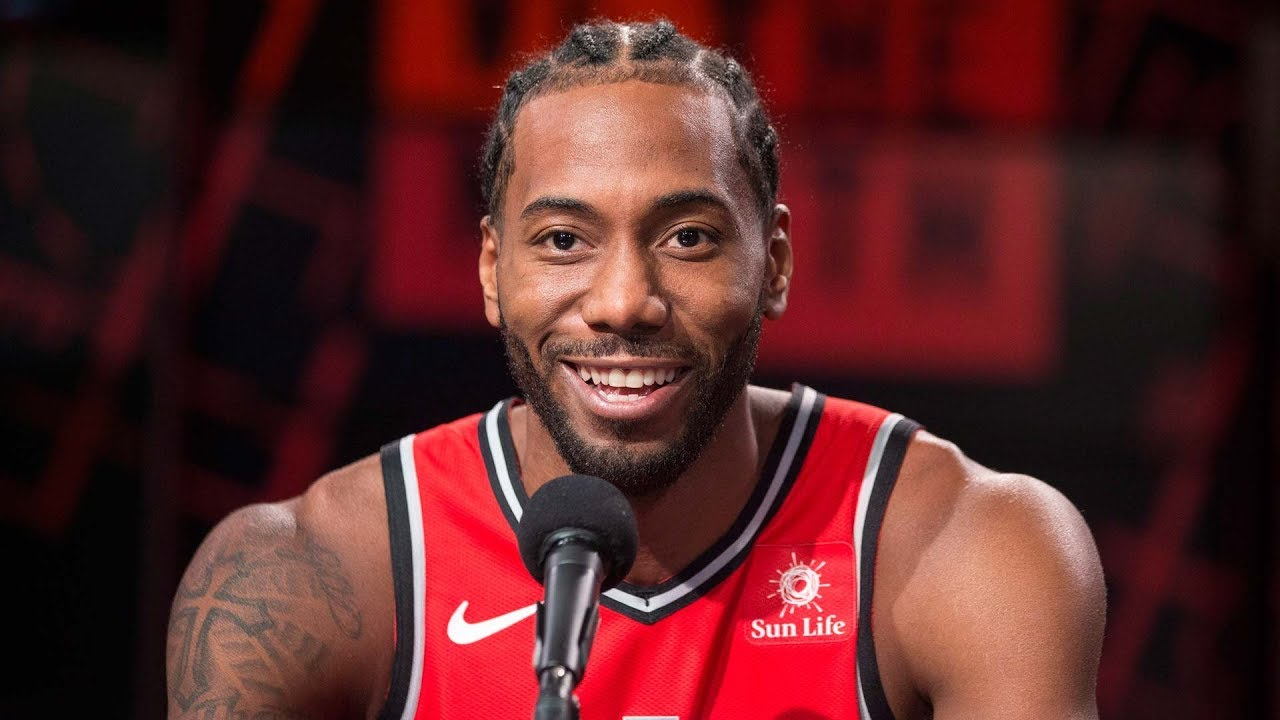 Kawhi Leonard ready to play with Toronto Raptors