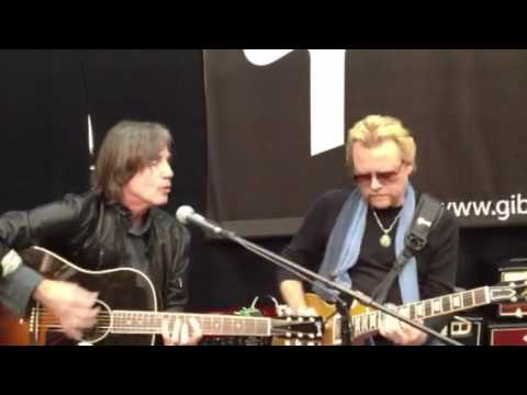 Lee Roy Parnell&Jackson Brown at NAMM