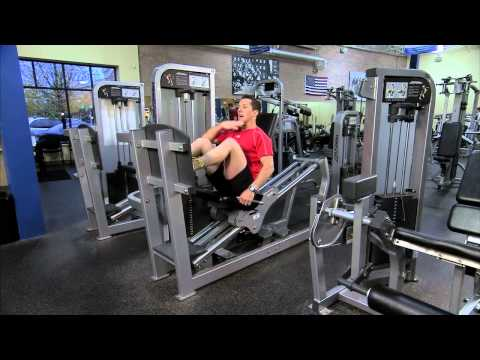 Life Fitness Pro2 Seated Leg Press Instructions Image 1