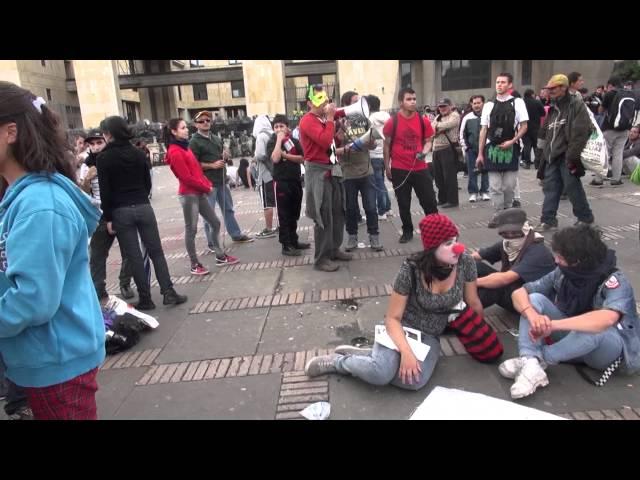 1 de mayo 2012. Agresiones del ESMAD
