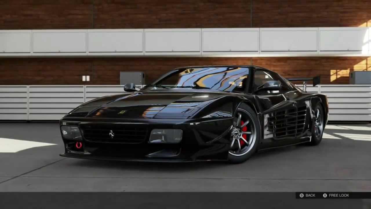 Forza 5 Ferrari 512tr Testarossa By Nog Motorsport Youtube