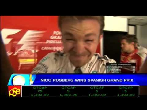 Nico Rosberg wins Spanish Grand Prix