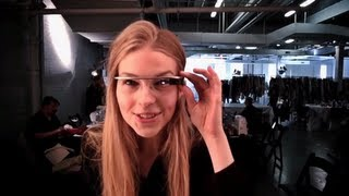 DVF through Google Glass