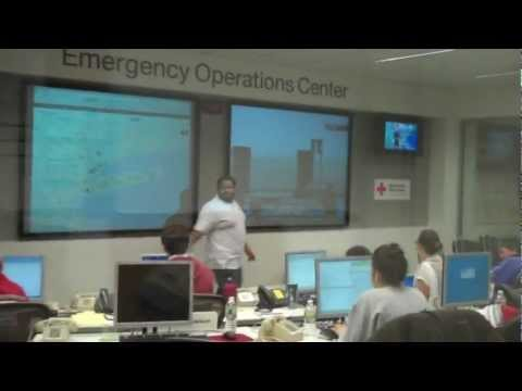 RED CROSS EMERGENCY OPERATIONS CENTER DAY1