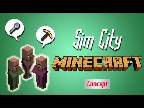 Sim City in Minecraft?!