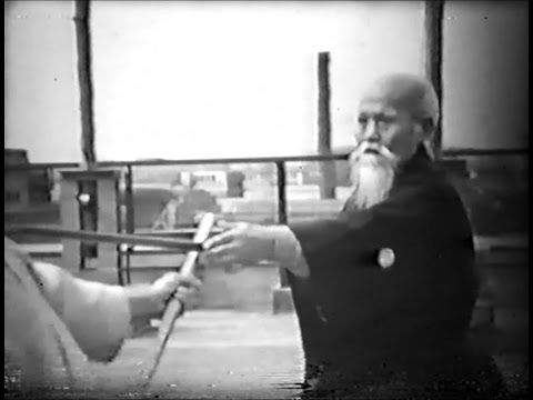 Morihei Ueshiba - Rare Aikido Demonstration (1957)