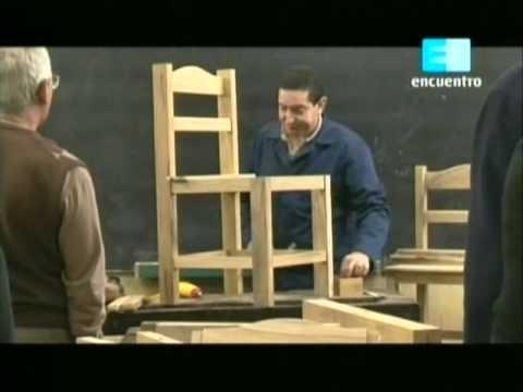 Curso de carpinteria - Cap. 4 Contrucción de una silla 2da parte(3/3)