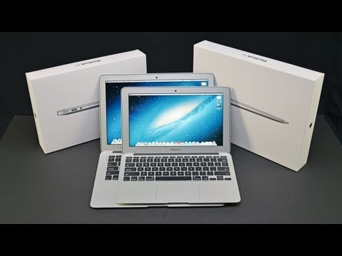"Apple MacBook Air 11"" & 13""  (2013): Unboxing and Comparison"