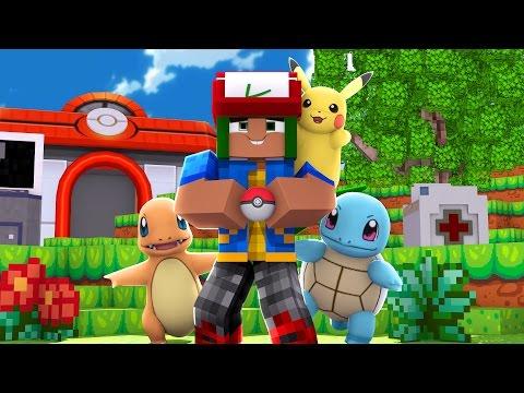 Pokemon Go in Minecraft - Pokemon Vanilla World #1 (PokeFind)