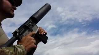 """""""Can Cannon"""" AR-15 at Area 34 Airsoft in Loveland Colorado"""