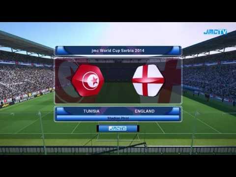 Mundial De Futbol Serbia 2014 Grupo B Tunisia vs Inglaterra