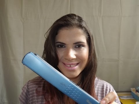 Como eu prancho meu cabelo + Resenha Prancha Babyliss Pro Nano Titanium